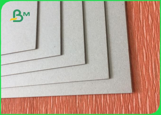 1.5mm 2mm 2.5mm uncoated grey straw board paper with smooth surface