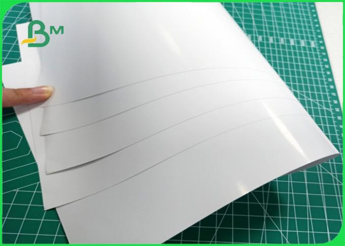 135gsm Sufficient ink absorption rate environmental Couche paper for High-end printing
