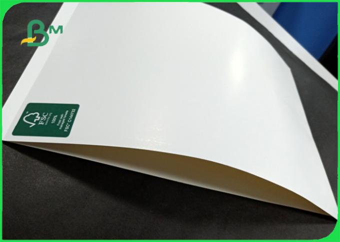 270gr 280gr 300gr FSC whiteness 95% glossy GC1 paperboard for book cover