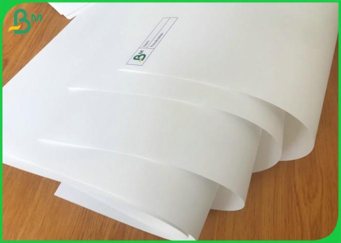 Waterproof RPD 100um white stone Synthetic Paper Sheets for untearable notebook